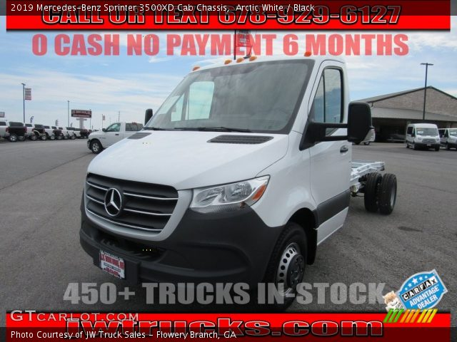 2019 Mercedes-Benz Sprinter 3500XD Cab Chassis in Arctic White