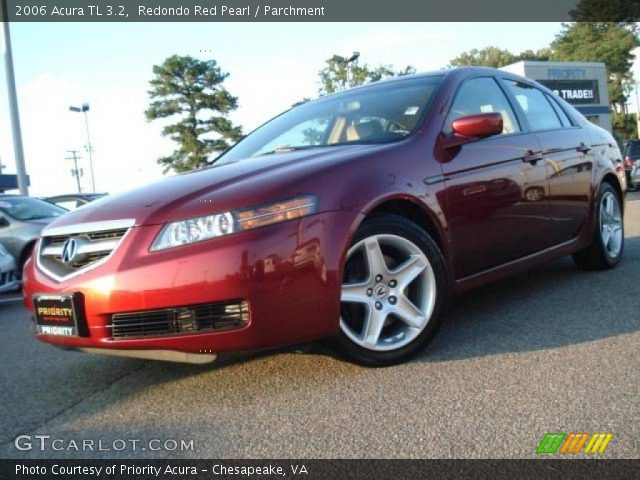 2006 Acura TL 3.2 in Redondo Red Pearl