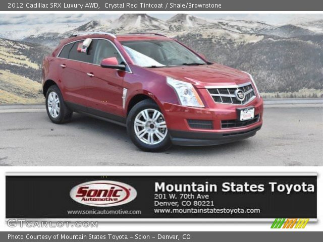 2012 Cadillac SRX Luxury AWD in Crystal Red Tintcoat