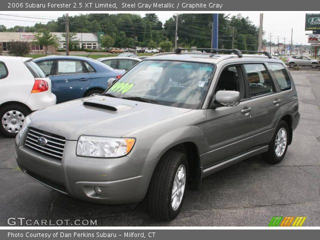 steel gray metallic 2006 subaru forester 2 5 xt limited. Black Bedroom Furniture Sets. Home Design Ideas