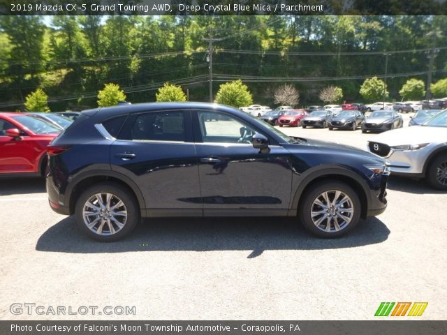 2019 Mazda CX-5 Grand Touring AWD in Deep Crystal Blue Mica