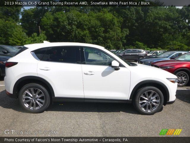 2019 Mazda CX-5 Grand Touring Reserve AWD in Snowflake White Pearl Mica