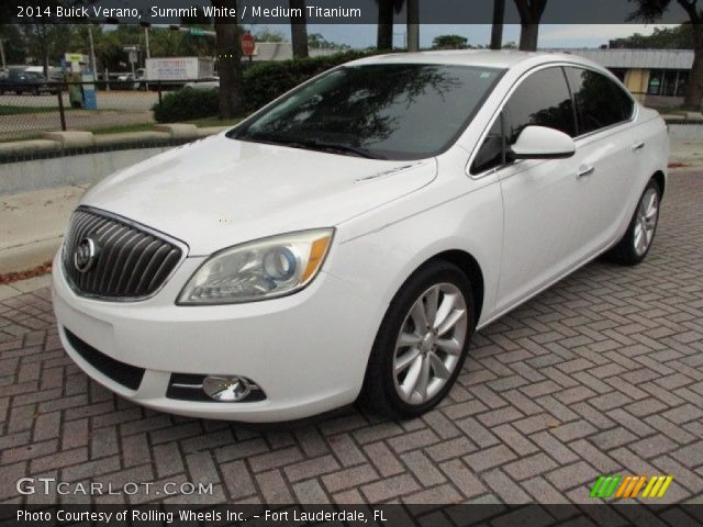2014 Buick Verano  in Summit White
