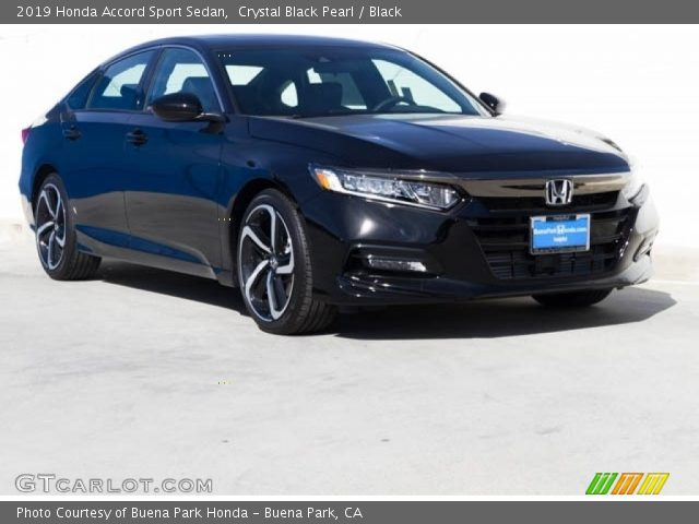 2019 Honda Accord Sport Sedan in Crystal Black Pearl