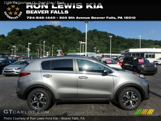 2020 Kia Sportage LX in Steel Gray