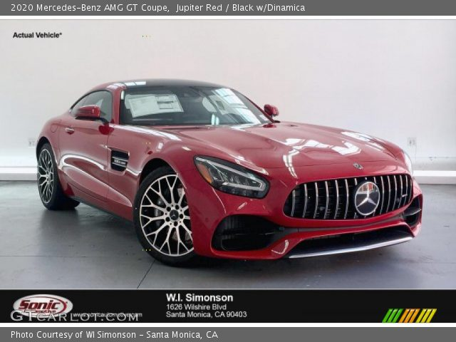 2020 Mercedes-Benz AMG GT Coupe in Jupiter Red