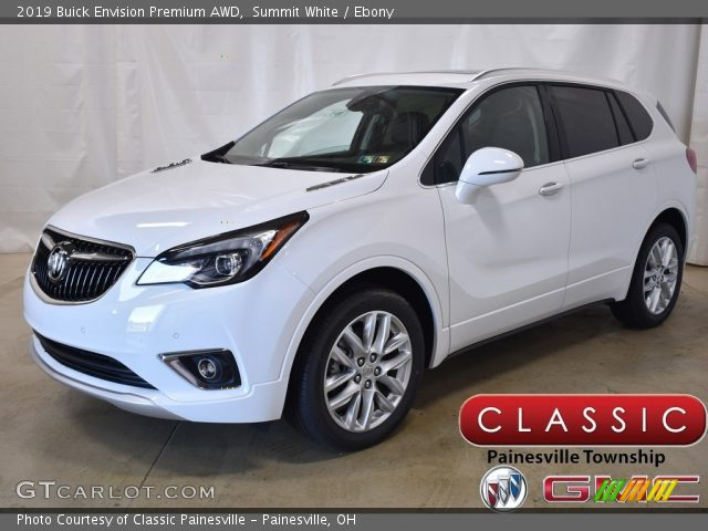 2019 Buick Envision Premium AWD in Summit White