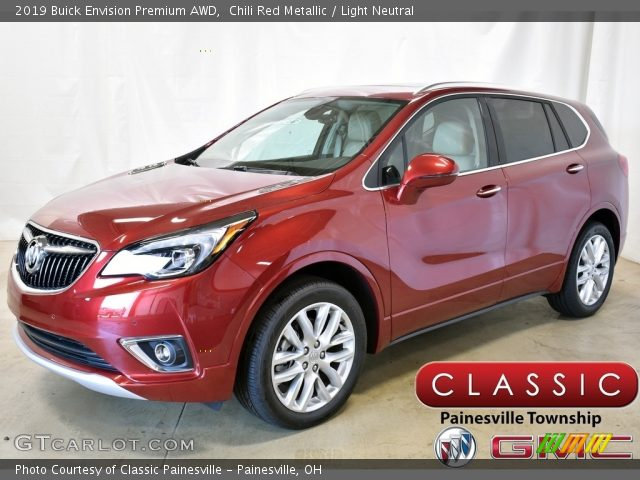 2019 Buick Envision Premium AWD in Chili Red Metallic