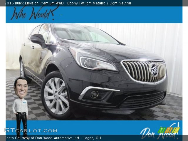 2016 Buick Envision Premium AWD in Ebony Twilight Metallic
