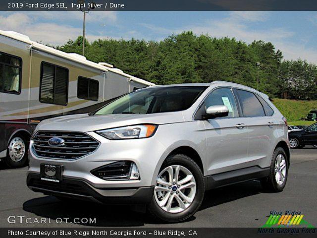 2019 Ford Edge SEL in Ingot Silver