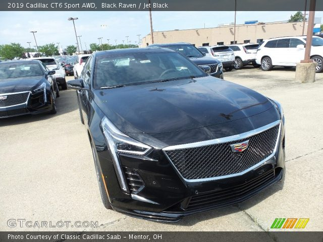 2019 Cadillac CT6 Sport AWD in Black Raven