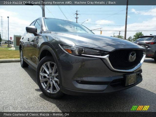 2019 Mazda CX-5 Grand Touring Reserve AWD in Machine Gray Metallic