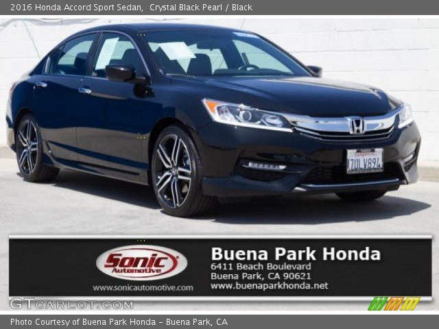 2016 Honda Accord Sport Sedan in Crystal Black Pearl