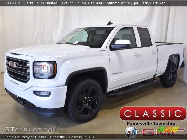 2019 GMC Sierra 1500 Limited Elevation Double Cab 4WD in Summit White
