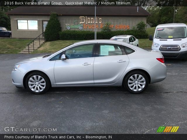 2016 Buick Verano Verano Group in Quicksilver Metallic