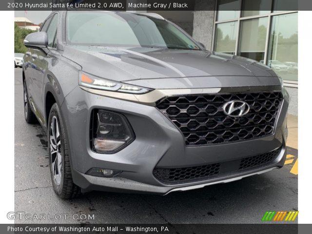 2020 Hyundai Santa Fe Limited 2.0 AWD in Portofino Gray