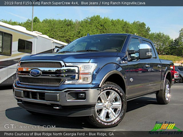 2019 Ford F150 King Ranch SuperCrew 4x4 in Blue Jeans