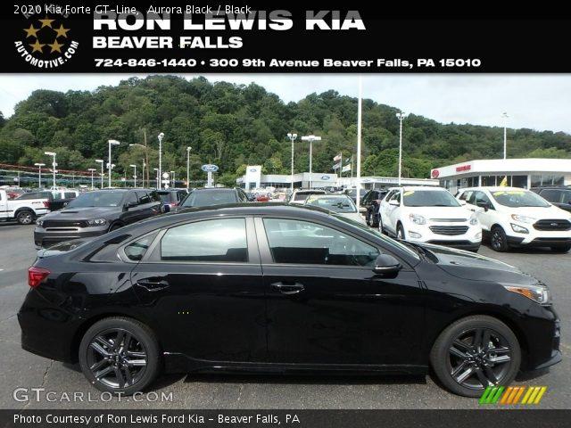 2020 Kia Forte GT-Line in Aurora Black