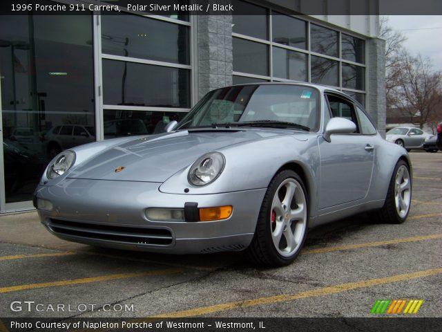 polar silver metallic 1996 porsche 911 carrera black. Black Bedroom Furniture Sets. Home Design Ideas