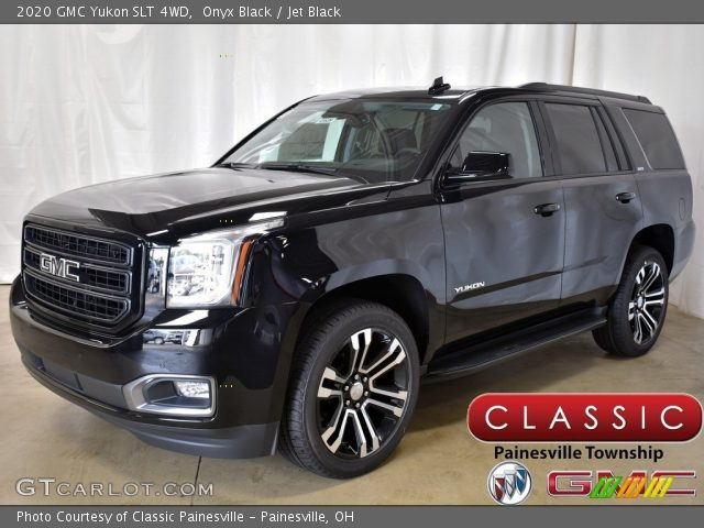 2020 GMC Yukon SLT 4WD in Onyx Black