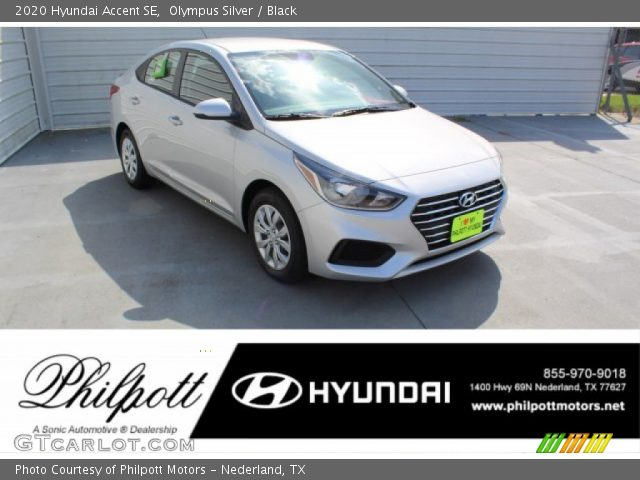 2020 Hyundai Accent SE in Olympus Silver