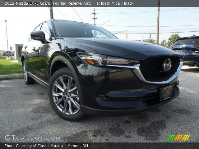 2019 Mazda CX-5 Grand Touring Reserve AWD in Jet Black Mica