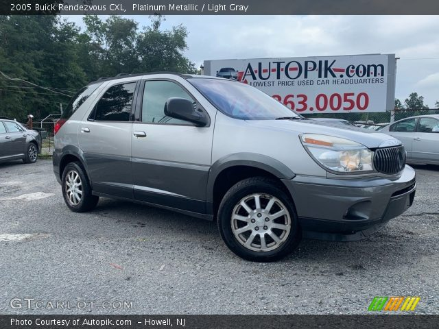 2005 Buick Rendezvous CXL in Platinum Metallic
