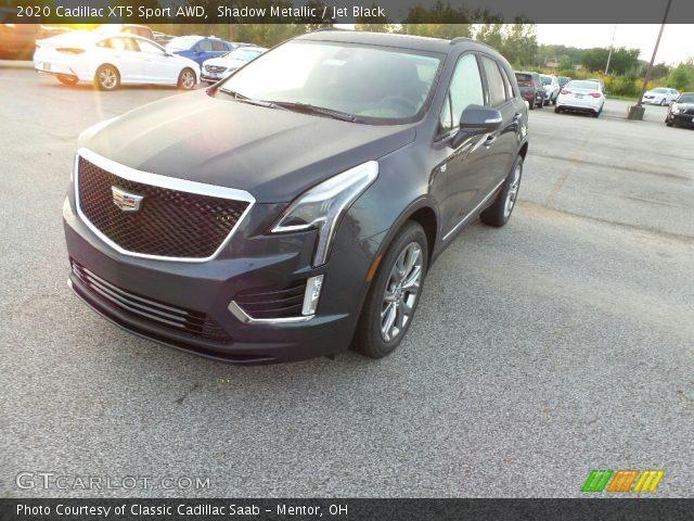2020 Cadillac XT5 Sport AWD in Shadow Metallic