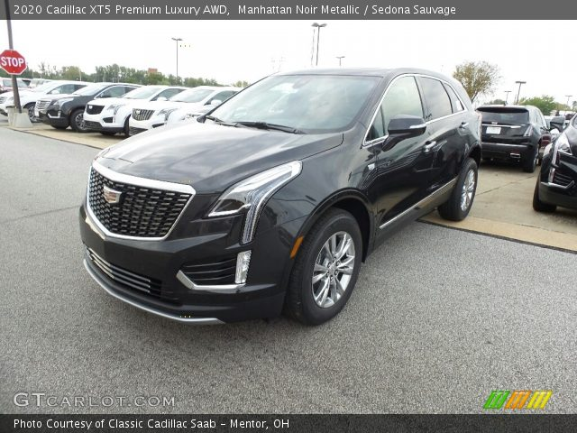 2020 Cadillac XT5 Premium Luxury AWD in Manhattan Noir Metallic