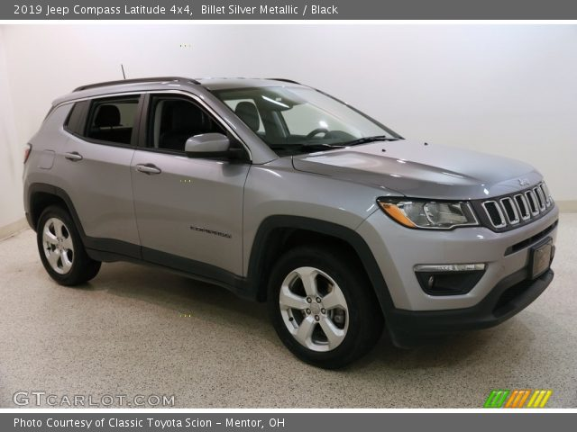 2019 Jeep Compass Latitude 4x4 in Billet Silver Metallic