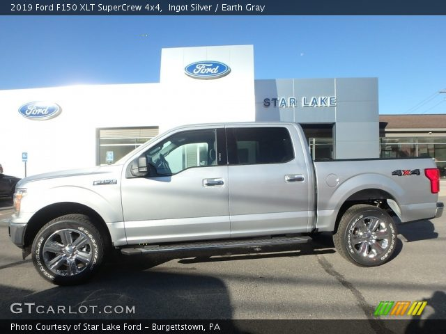 2019 Ford F150 XLT SuperCrew 4x4 in Ingot Silver