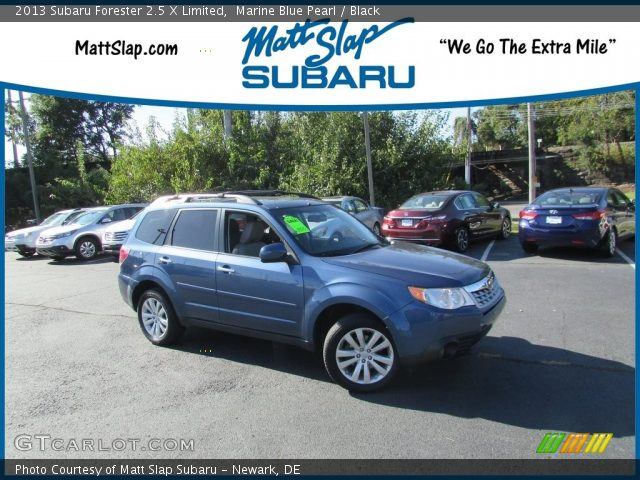 2013 Subaru Forester 2.5 X Limited in Marine Blue Pearl