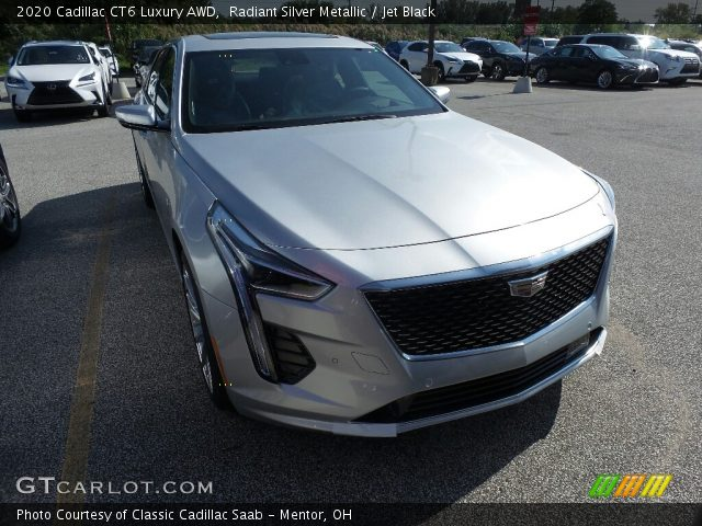 2020 Cadillac CT6 Luxury AWD in Radiant Silver Metallic