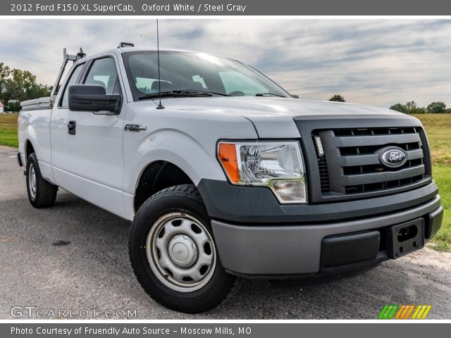 2012 Ford F150 XL SuperCab in Oxford White