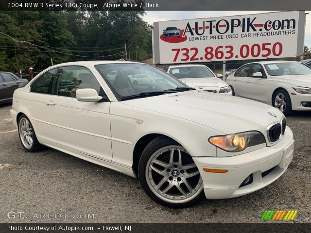 2004 BMW 3 Series 330i Coupe in Alpine White