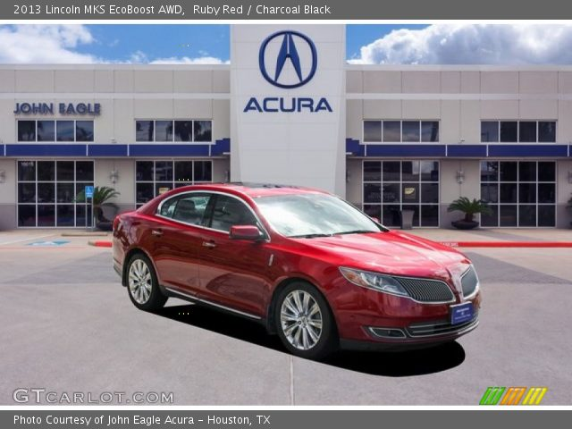 2013 Lincoln MKS EcoBoost AWD in Ruby Red