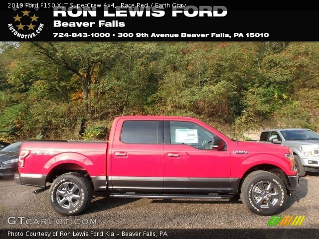 2019 Ford F150 XLT SuperCrew 4x4 in Race Red