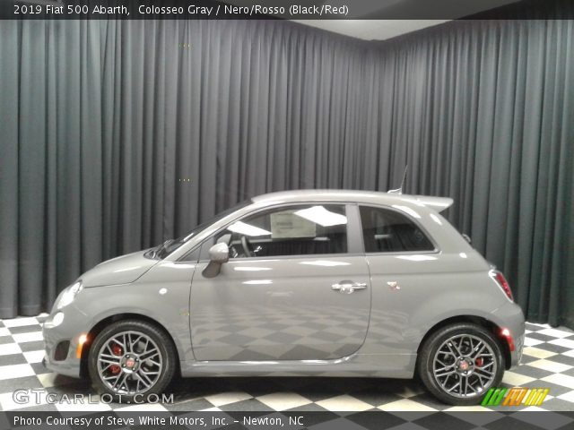 2019 Fiat 500 Abarth in Colosseo Gray
