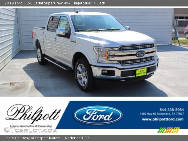 2019 Ford F150 Lariat SuperCrew 4x4 in Ingot Silver