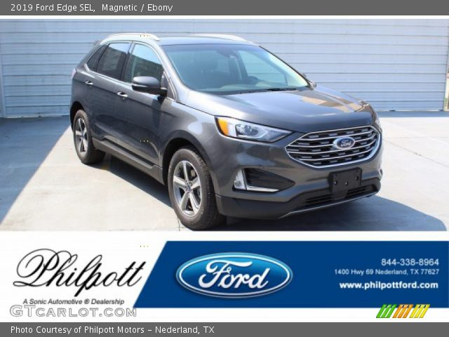 2019 Ford Edge SEL in Magnetic