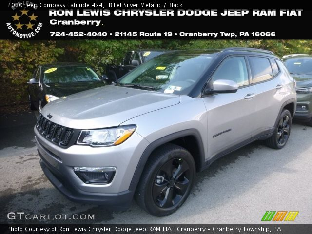 2020 Jeep Compass Latitude 4x4 in Billet Silver Metallic