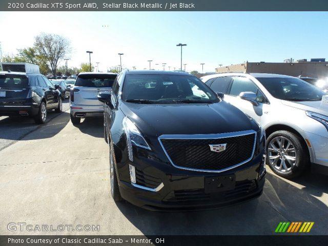 2020 Cadillac XT5 Sport AWD in Stellar Black Metallic