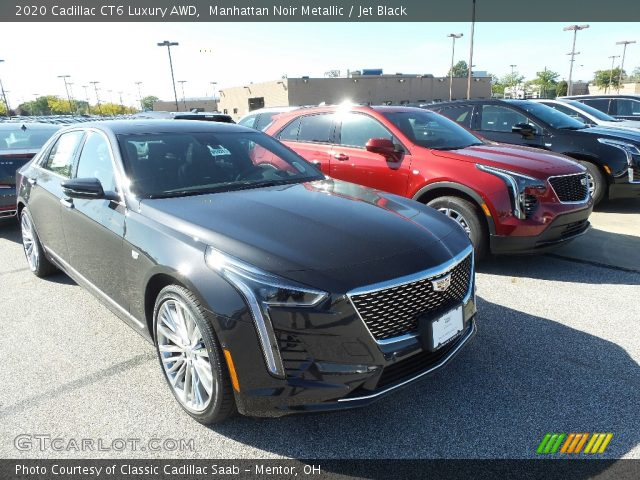 2020 Cadillac CT6 Luxury AWD in Manhattan Noir Metallic