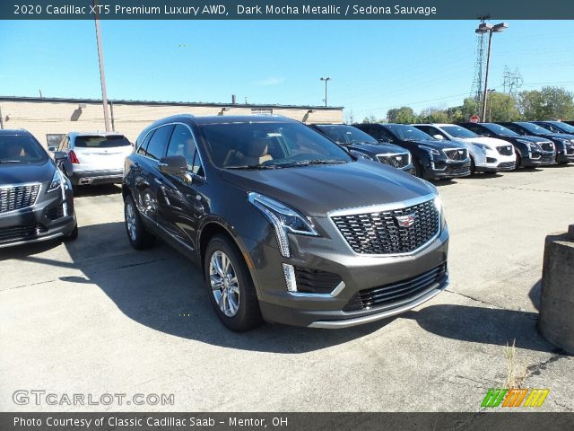 2020 Cadillac XT5 Premium Luxury AWD in Dark Mocha Metallic