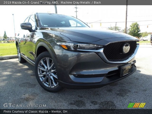 2019 Mazda CX-5 Grand Touring AWD in Machine Gray Metallic