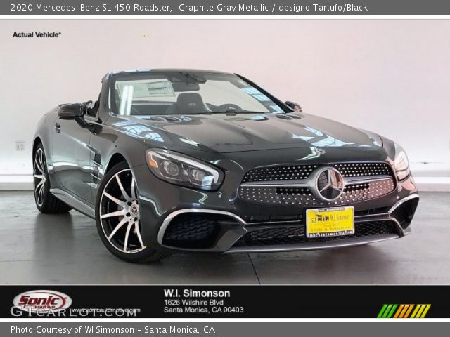 2020 Mercedes-Benz SL 450 Roadster in Graphite Gray Metallic