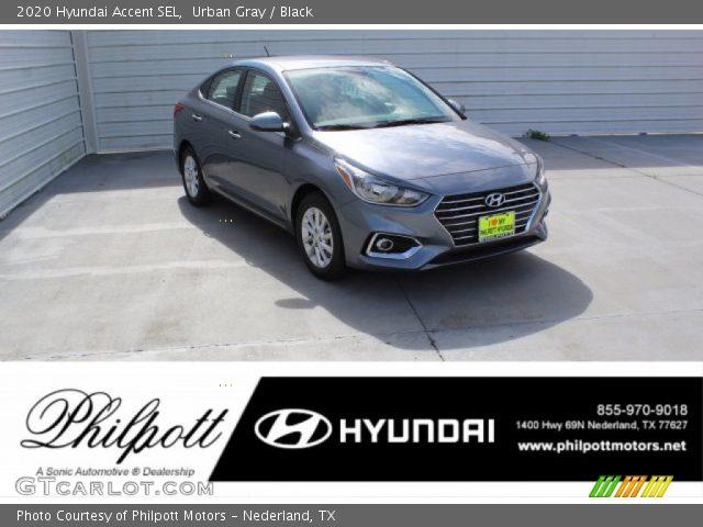 2020 Hyundai Accent SEL in Urban Gray