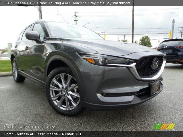 2019 Mazda CX-5 Grand Touring AWD in Machine Gray Metallic