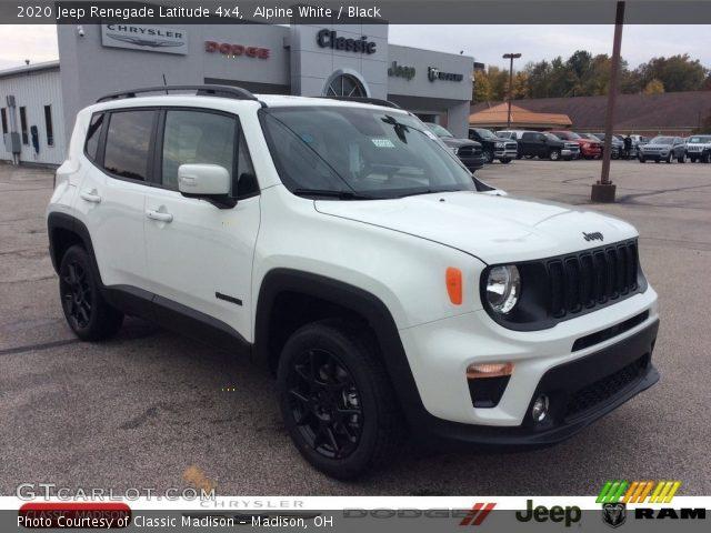 2020 Jeep Renegade Latitude 4x4 in Alpine White
