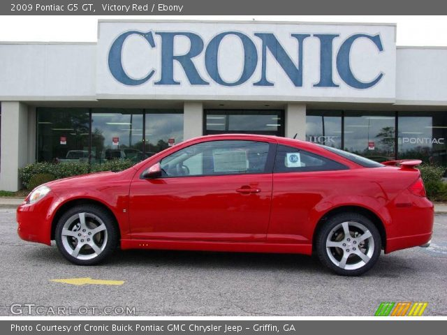 2009 Pontiac G5 GT in Victory Red